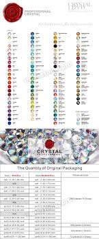 Swarovski Ab Color Chart Original Swarovski Elements Ab Clear 001ab 20ss Crystal Iron On Hotfix Buy Swarovski Elements Hotfix Iron On Hotfix Crystal Hotfix Product On