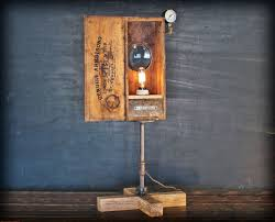 image of diy steampunk lamps
