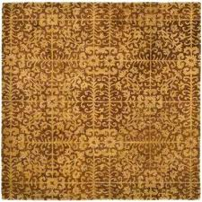 antiquity gold beige 8 ft x square area rug rugs 3x5 n
