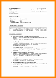 7 Cv Indian Format Theorynpractice