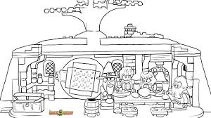 LEGO Hobbit Coloring Pages Free Printable Color Sheets Within Lego ...