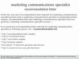 Communications Specialist Cover Letter Communications Specialist Cover Letter Luxury Program Specialist