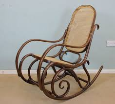 vintage bentwood rocking chair