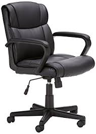 amazonbasics mid back office chair affordable office chair