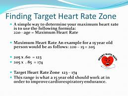 resting maximum safety and recovery heart rate journal