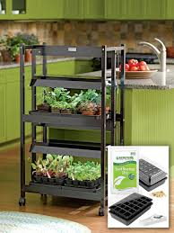 Led Kitchen Garden Seed Starting Kits Mixes And Trays Gardeners Supply