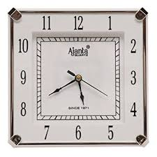 wall clock for office. brilliant clock ajanta fancy analog wall clock small size for home and office round white  amazonin home u0026 kitchen for wall clock office