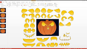 Design Your Own Pumpkin Create Your Own Pumpkin Face Halloween And Autumn Harvest
