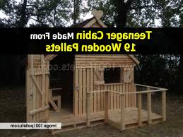 Photo 4 of 10 Teenager-cabin-1001pallets-com ( Cabin Made Of Pallets Design  Inspirations #4