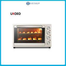 Lò nướng kiêm nồi chiên không dầu Ukoeo T35 - Nồi đa năng có thể nướng và  chiên nhiều món