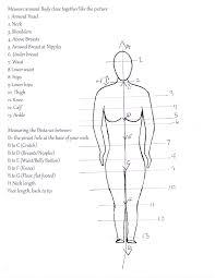 Body Bag Measuring Chart