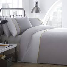 racing green lawson 100 cotton duvet cover set white grey double linens limited