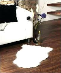 small fur rug large white fur area rug white faux fur rug large small size of