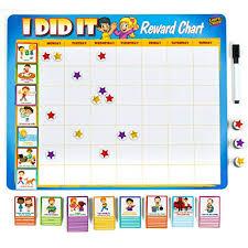 Marvel Reward Chart Printable Kids Reward Chores Chart 49 Behavioral Tasks