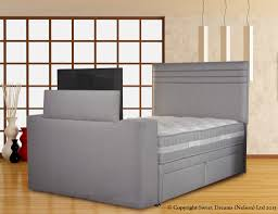 Bedroom Wall Unit living imagechic tvbed executivesilvermist sd terrific bedroom 5919 by xevi.us