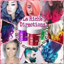 la riche directions semi permanent hair dyes