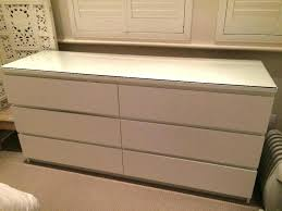 6 drawer chest of drawers with glass top in wonderful dresser ikea malm canada recall