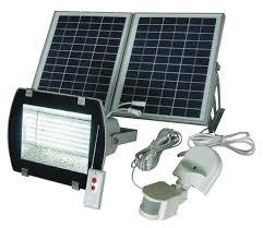 GUARDIAN 480X Solar Security Flood Light With Standalone PIR Solar Security Flood Light