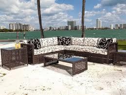 brown set patio source outdoor. Source Outdoor Furniture Matterhorn Wicker Lounge Set Brown Patio