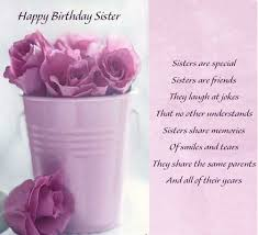 Quotes For Sister Birthday Cool Best Happy Birthday To My Sister Quotes StudentsChillOut