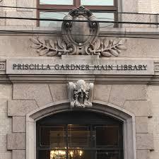 The Priscilla Gardner Main Library: An Architectural Gem in Jersey City -  Hoboken Girl