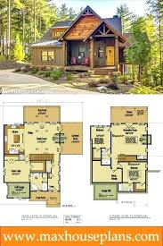 cabin house plans covered porch floor with walkout basement small homes screened