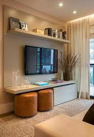 Living Room Design With Tv Interior