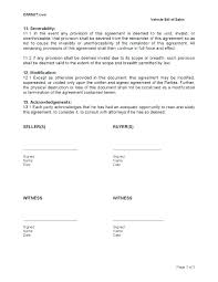 Sale Of Vehicle Receipt Legal Bill Of Sale Template Bill Of Sale