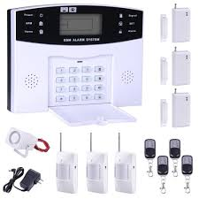 2016 new home alarm system gsm sms burglar security alarm system wireless lcd screen detector sensor kit alarm systems alarm systems for from jane6668