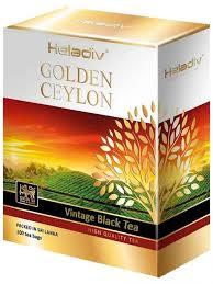 <b>Чай черный Heladiv</b> Golden Ceylon VINTAGE 100 пакетиков ...