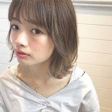 パーマ フェミニン 前髪あり 色気december 永澤佑衣 395107hair