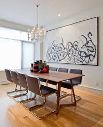 Dining Rooms With Oversized Art - Oversized dining room tables