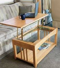 They Found Their Solution For Their RV Coffee Table Needs At  CampingWorld.com. The Specially Designed Swing Up Coffee Table (available  In Oak And Darker ...