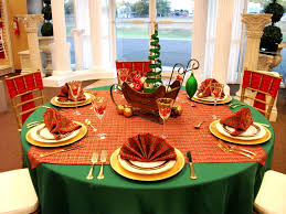 Tablecloth For Dining Room Table Dining Room Traditional Christmas Decorations Features Rounded