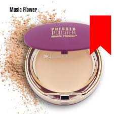 flower mineral pressed powder concealer cream face base foundation makeup smooth oil control contour palette cosmetics 10g best foundation for oily