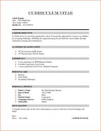 Some Resume Samples Lofty Design How To Write A Simple Resume 8 Some
