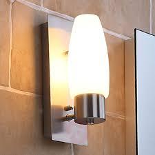 Badezimmer Wandleuchte Marian Mit E14 Led Lampe Kaufen Lampenweltde