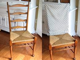 diy dining chair slipcover no sew design ideas