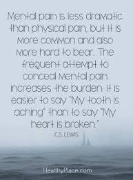Quotes On Mental Illness Stigma Healthyplace