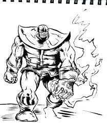 Infinity Coloring Pages Coloring Pages With The Infinity Gauntlet In
