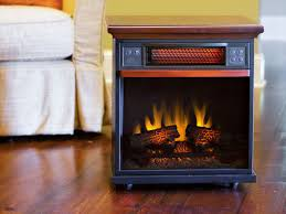 spencer 20 inch 1 000 sq ft cherry portable fireplace infrared heater 20if100gra c202