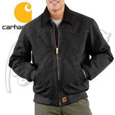 Carhartt J14 Men's Sandstone Santa Fe Jacket/Quilted- Flannel ... & Carhartt J14 Men's Sandstone Santa Fe Jacket/Quilted- Flannel Lined Adamdwight.com