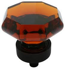 cosmas 5268orb a oil rubbed bronze and amber glass cabinet knob contemporary cabinet and drawer knobs by door corner