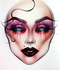 Pin By Victoria Shelton On Face It Makeup Face Charts
