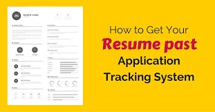 Resume Tracking How To Get Your Resume Past Applicant Tracking Systems Wisestep