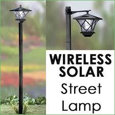 Lighting  Solar Outside Lamp Post Solar Powered Outdoor Lamp Post Solar Garden Post Lights