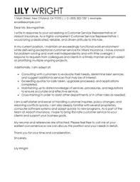 Best Customer Service Representative Cover Letter Examples ... Customer Service Representative Cover LetterContemporary Design