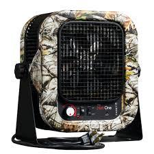 5 000 watt electric portable garage camo heater