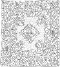 72 best Quilts whole cloth images on Pinterest | Free motion ... & Quilting Drawing, made by Linda Baumgarten, IQSCM 2006.007.0001 Adamdwight.com