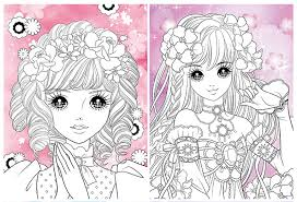 cartoon princess graffiti book techniques children drawing coloring books 4 books set in art sets from office supplies on aliexpress alibaba